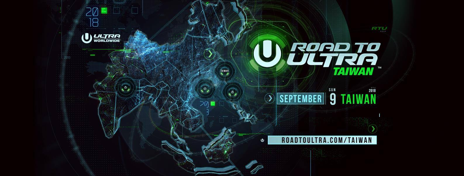 Road To Ultra Taiwan 2018 (International)