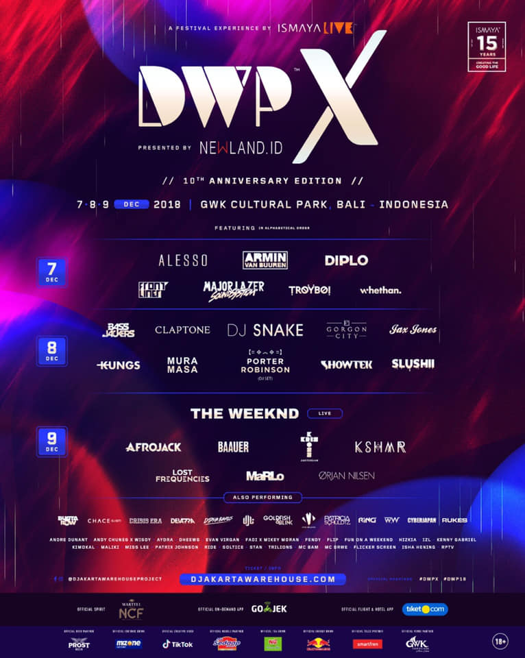 DWP X Lineup with Date