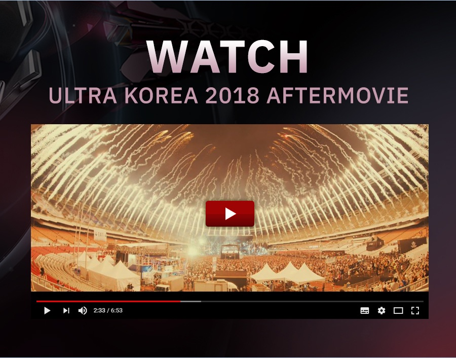 Ultra Korea 2019 AD Poster 2nd 002