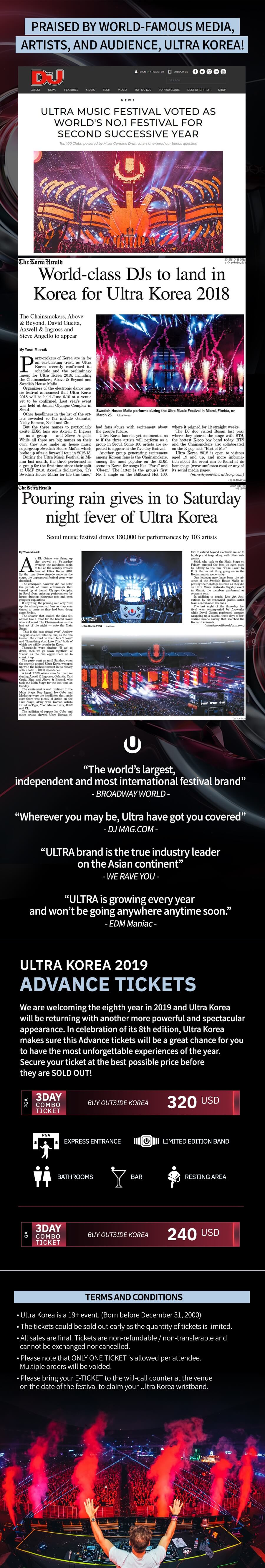 Ultra Korea 2019 AD Poster 2nd 003