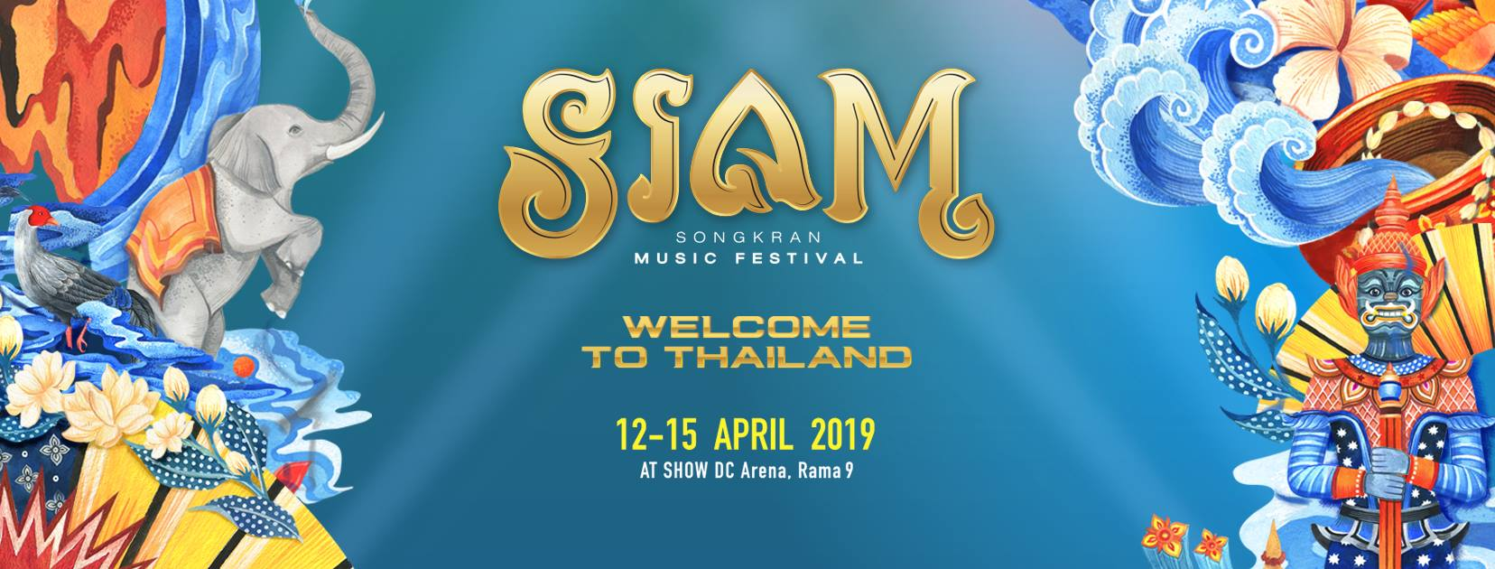 Siam SongKran Music Festival 2019