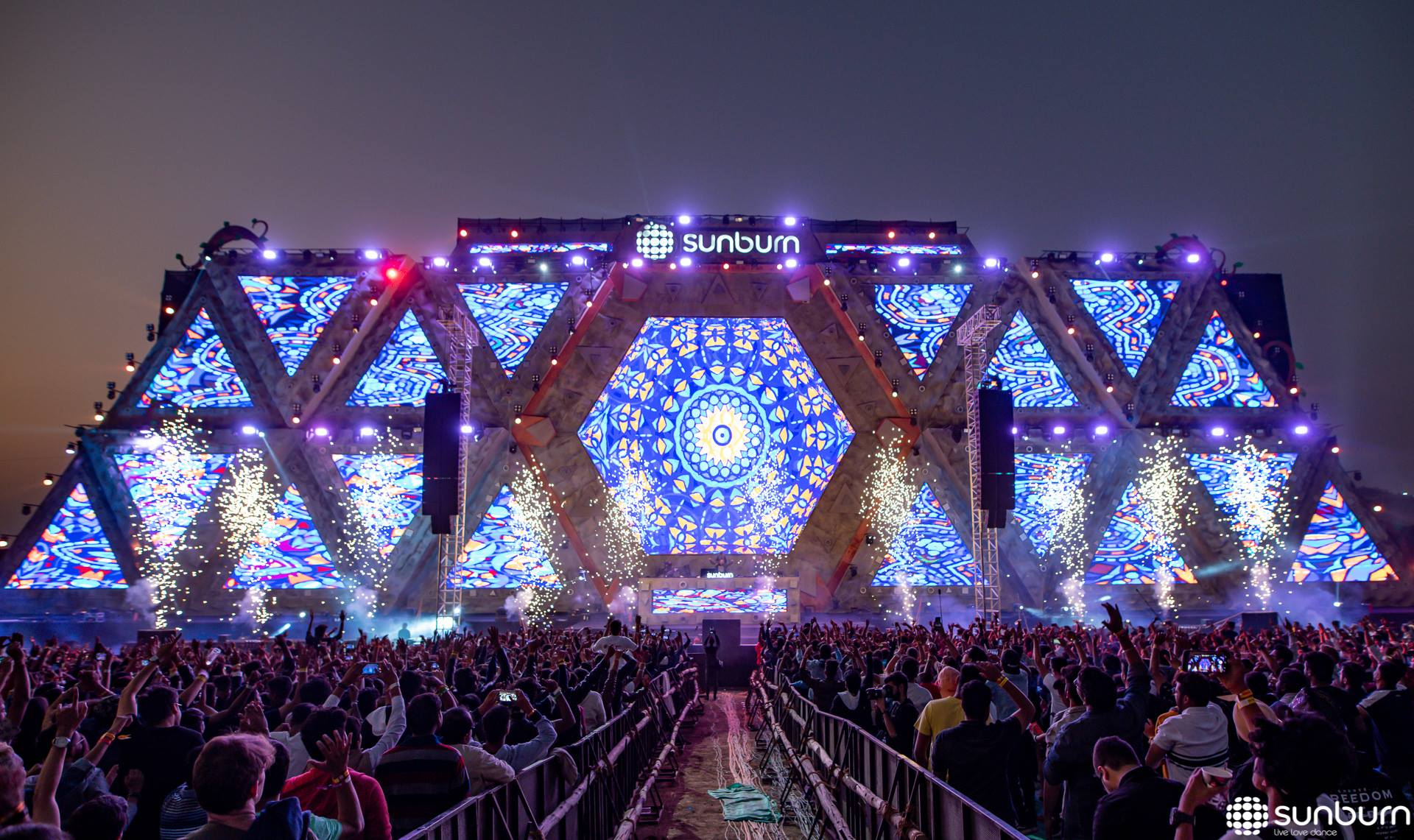 sunburn festival goa 2019