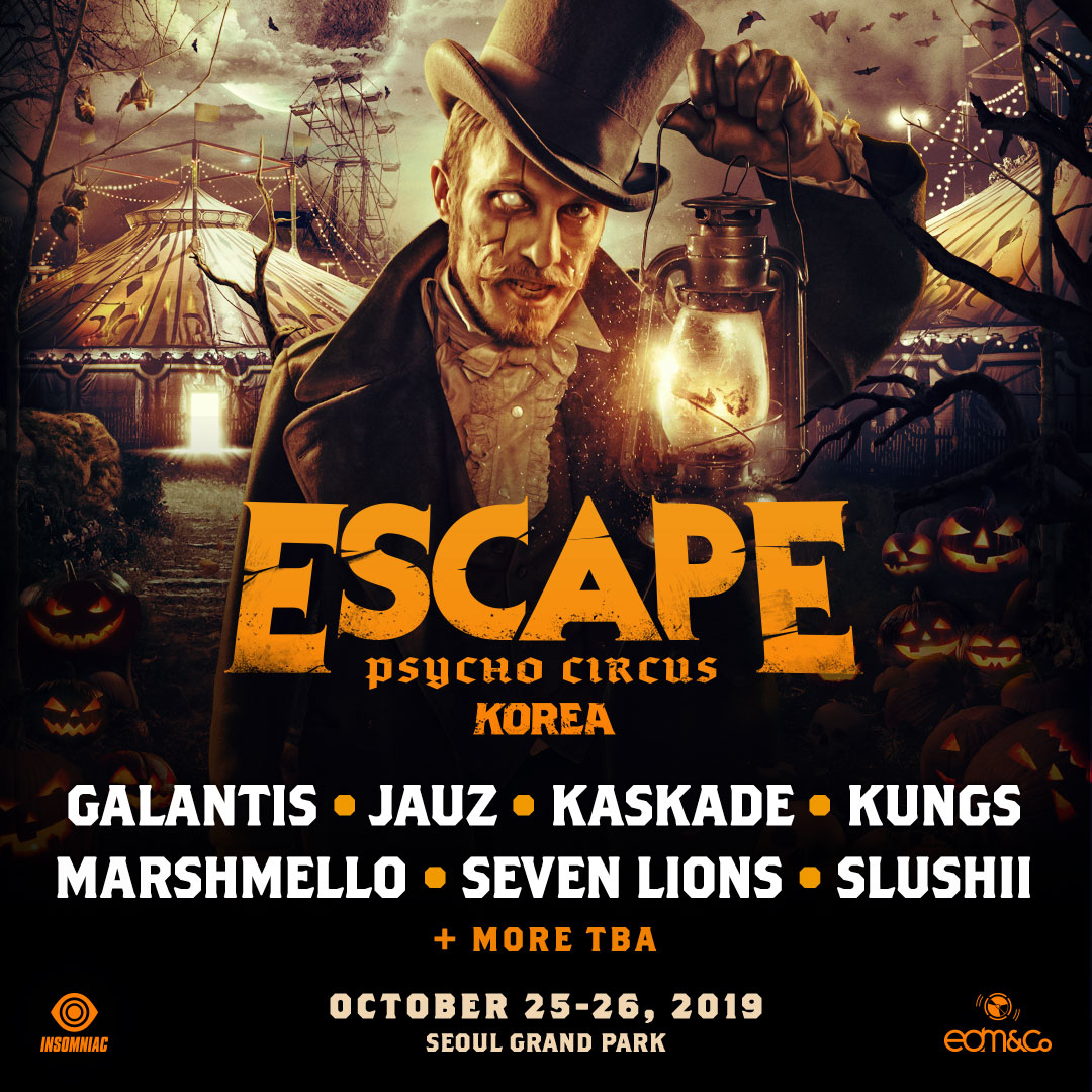 Escape: Psycho Circus Korea 2019