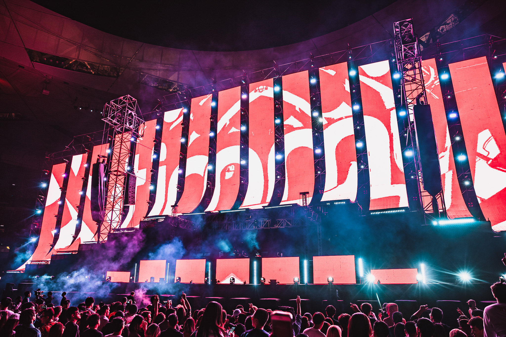 Neon Festival – Birds Nest Stadium Beijing, China 9.22.18