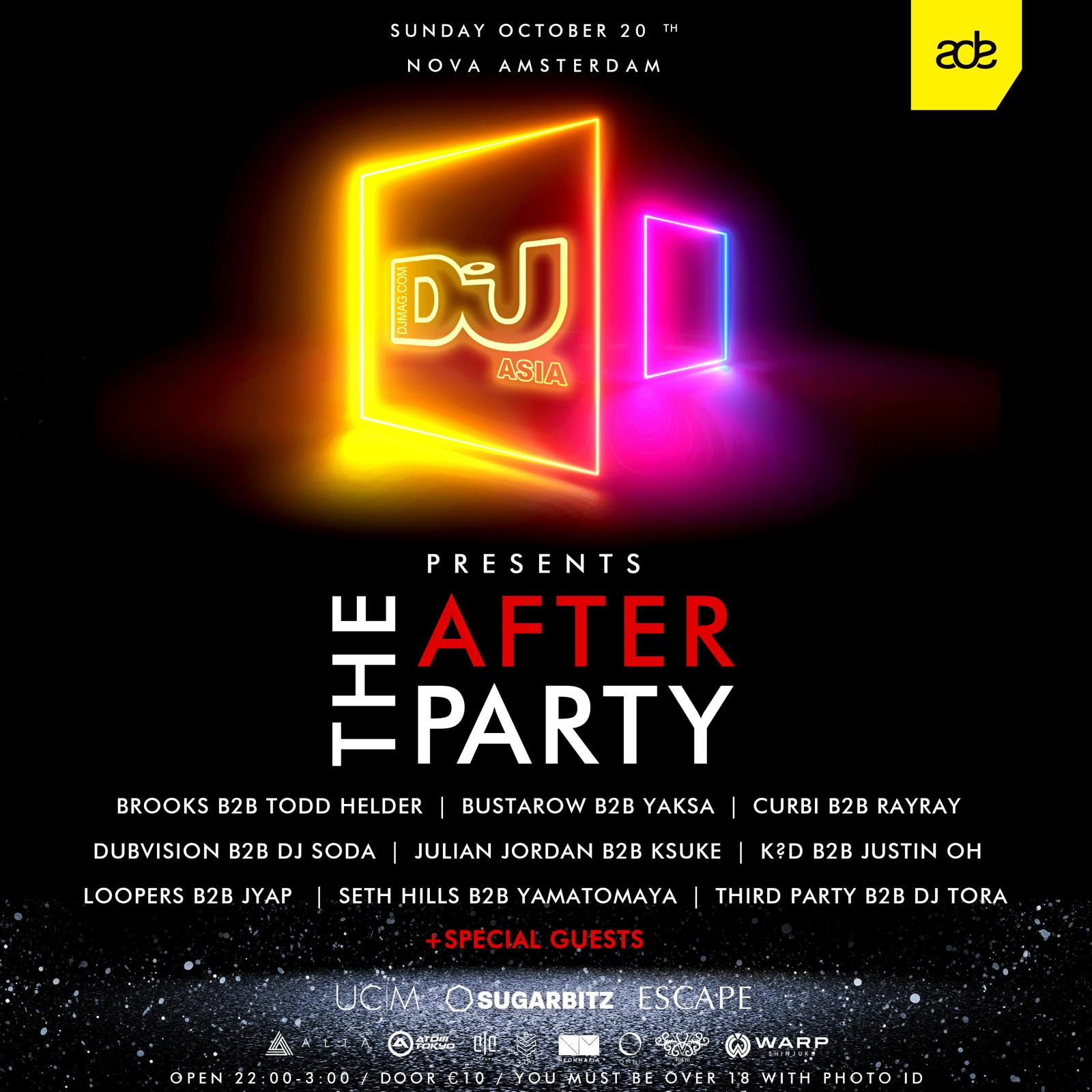 DJ Mag Asia Presents: THE AFTER PARTY